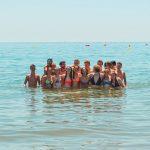 Guys in the beach
