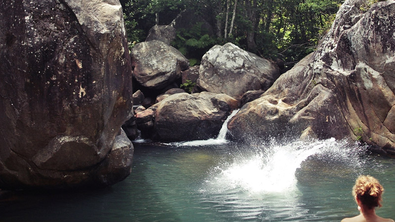 teen summer camps tarifa, rock jumping