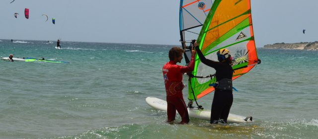 Windsurf summer camp teenagers in Tarifa, Spain