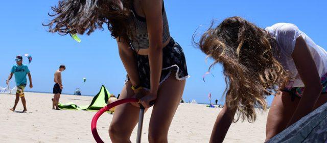 Kitesurfing girl of the moment: Bruna Kajiya, Brasil