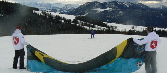 Snowkiting – The best places
